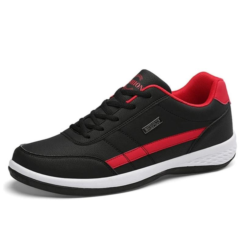 Men's Breathable Lace-Up Casual Sneakers