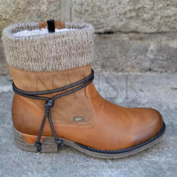 Women's Winter Plush Ankle Boots
