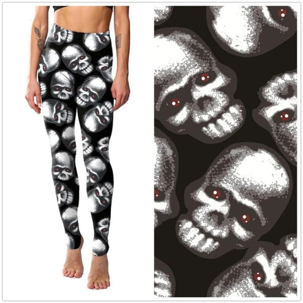 Women's Printed Fitness Push-Up Leggings