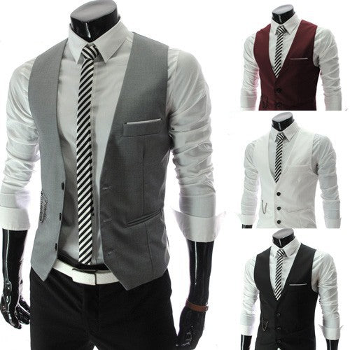 Men's Slim Fit Dress Vests