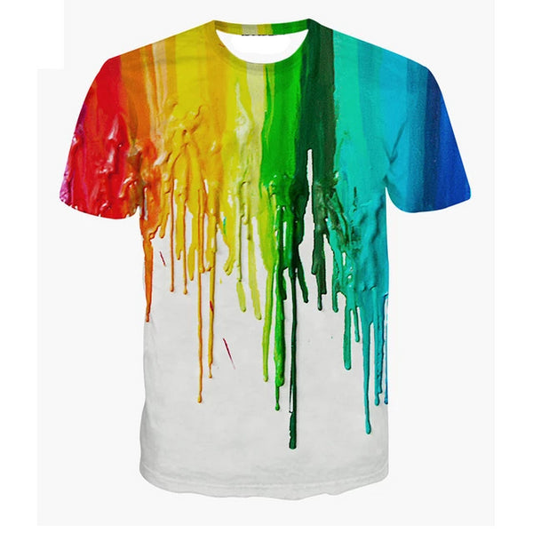 Boys Paint 3D T-shirt