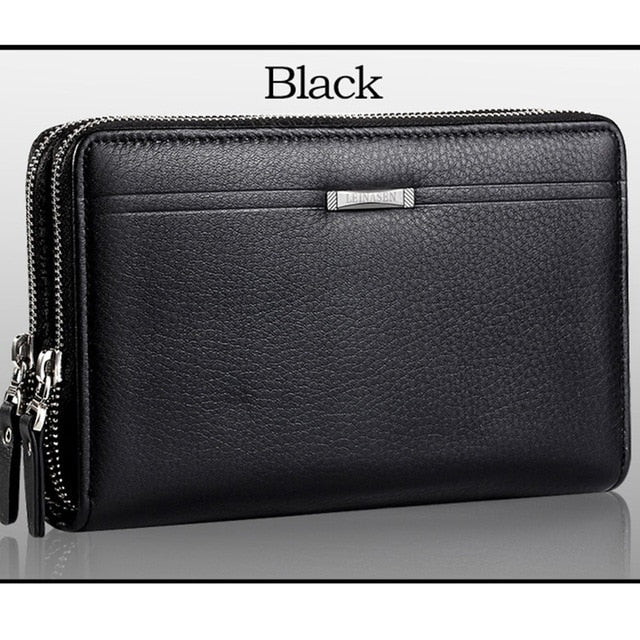 Men's Zipper Business Clutch