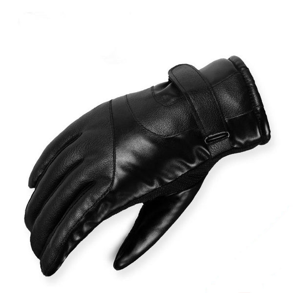 Men's Sheepskin Genuine Leather Driving Gloves
