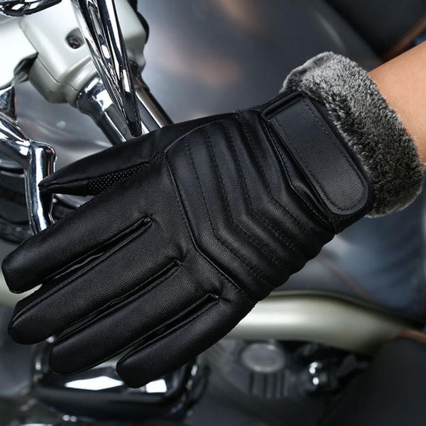 Men's Genuine Leather Sheepskin Gloves