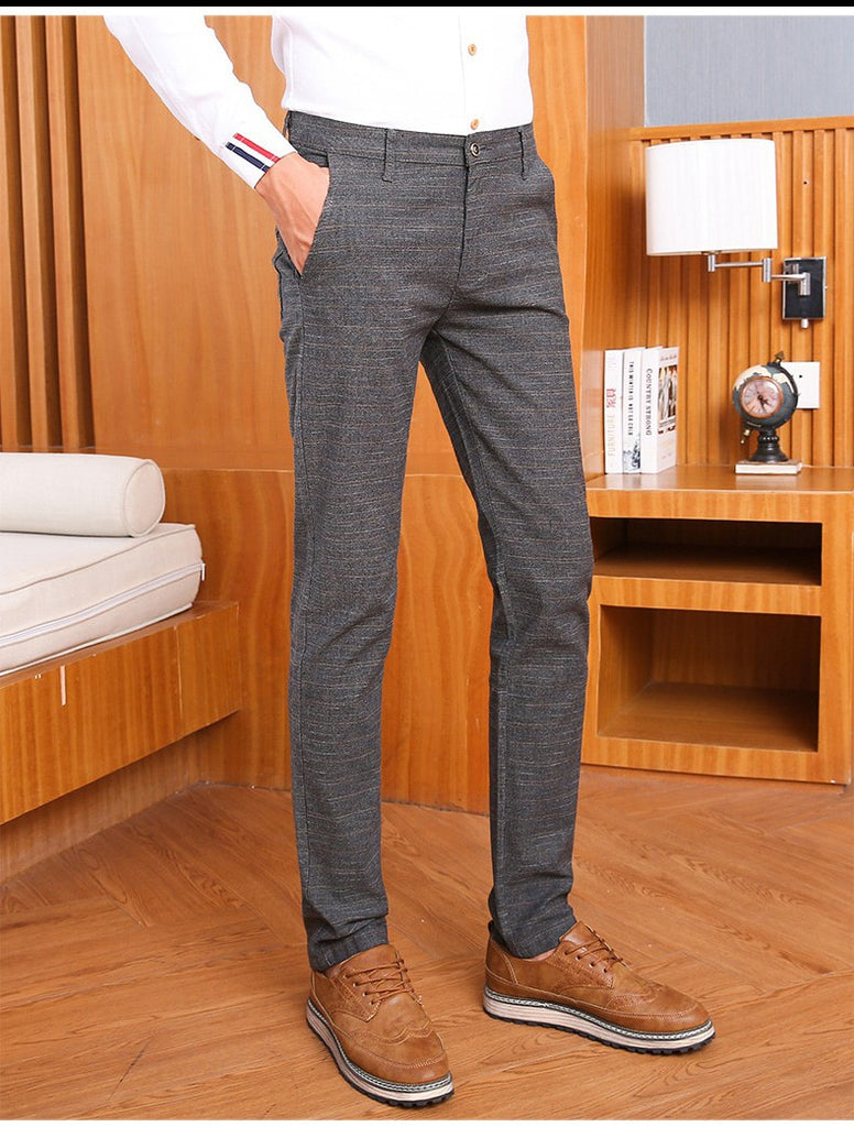 Men's Casual Slim Fit Stretch Comfort Pants
