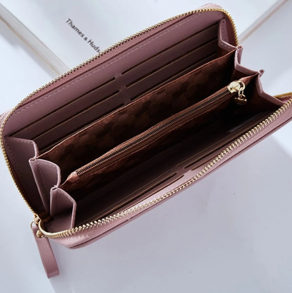 Women's Wristlet Clutch Wallet