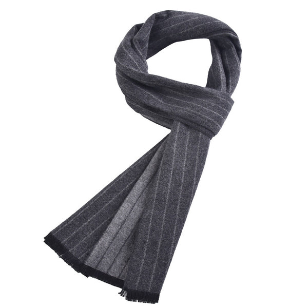 Men's Luxury Cashmere Soft Tassel Scarf