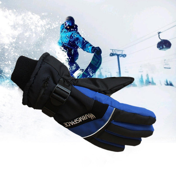 Men's Winter USB Hand Warmer Electric Thermal Rechargeable Gloves