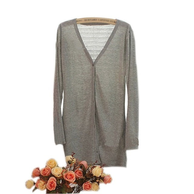 Women's College Style Cardigan Sweater