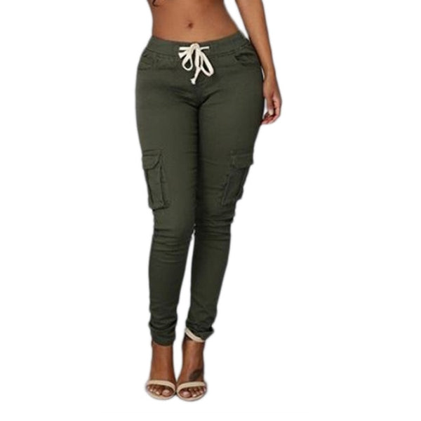 Women's Elastic Sexy Skinny Pencil Jeans