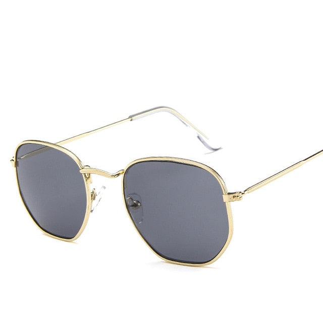 Women's Fashion Polygon Designer Sunglasses