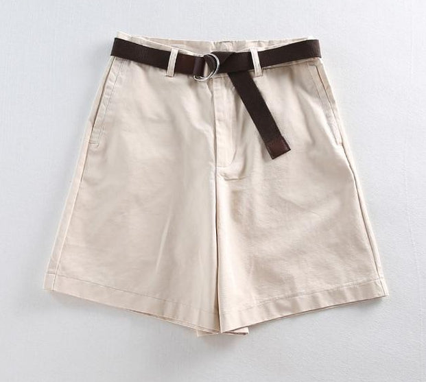 Women's Casual A-line Slim Shorts