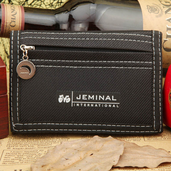 Men's Casual Style Canvas Wallet