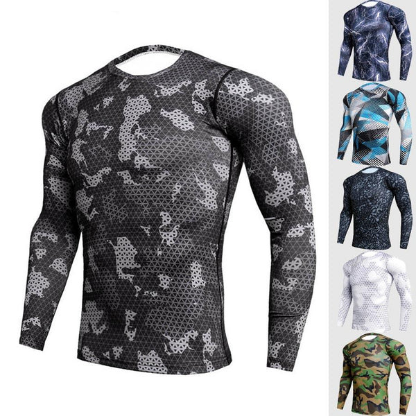Men's Crossfit Compression Quick DrySport Shirt