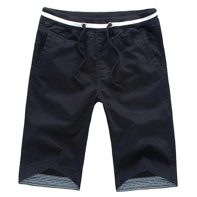Men's Slim Fit Drawstring Summer Beach Shorts