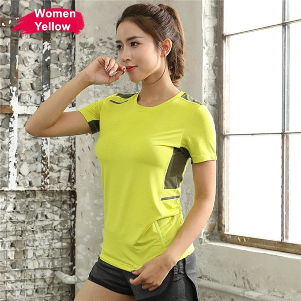 Women's Summer Quick Dry Breathable Workout T-shirt