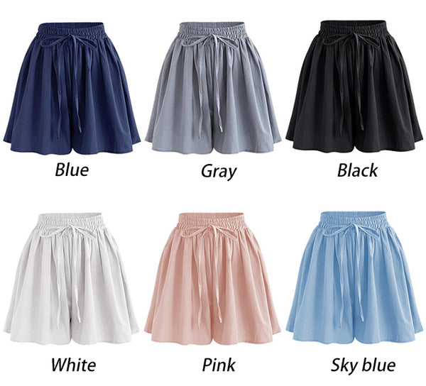 Women's Loose Fit Chiffon Shorts