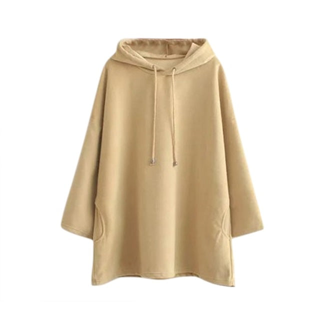 Women's Long Hooded Sweatshirt