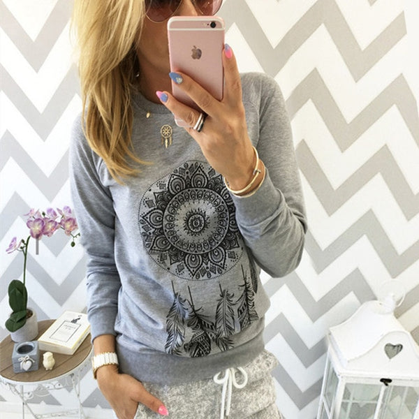 Women's Dreamcatcher Pullover Sweatshirt