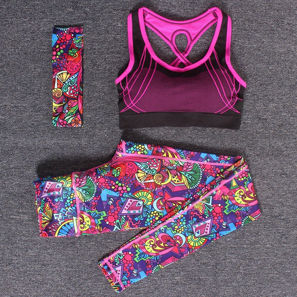 Women's Yoga Fitness Sportswear Set