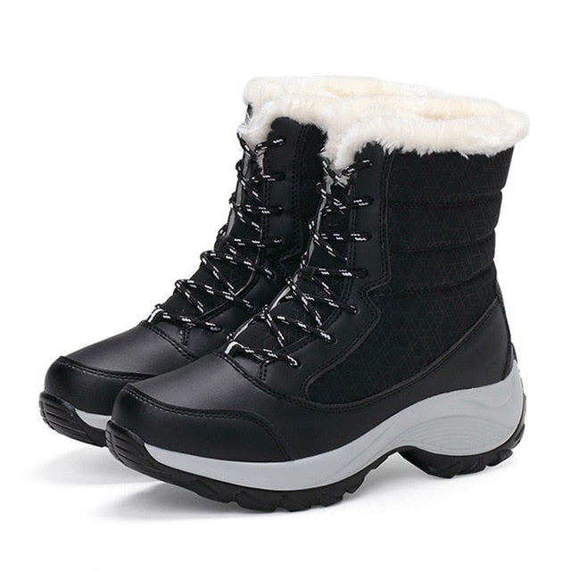 Women's Waterproof Winter Above Ankle Winter Boots