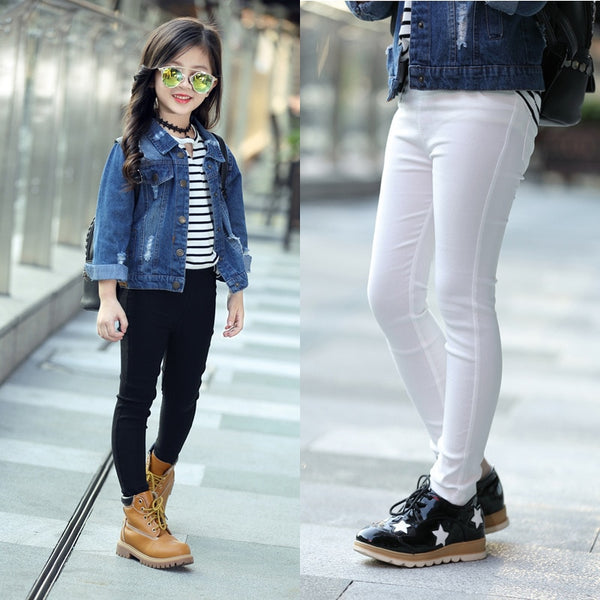 Kid's Girls Skinny Casual Legging Pants
