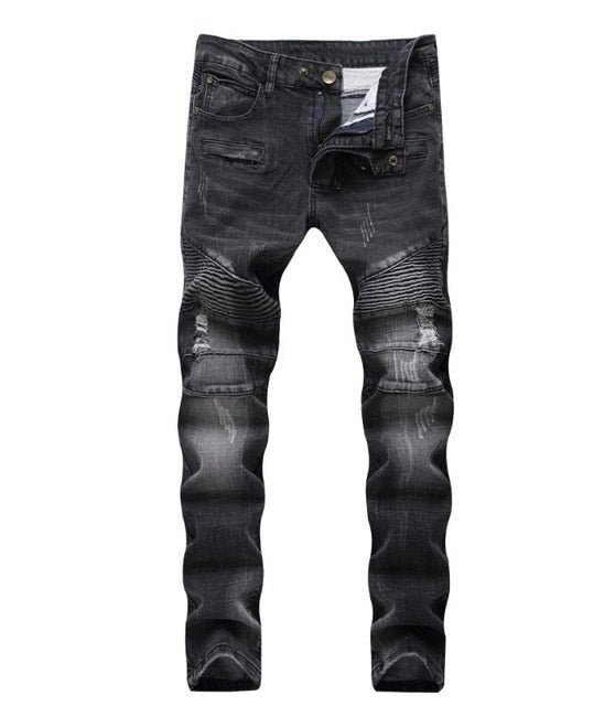 Men's Stylish Washed Fashion Jeans