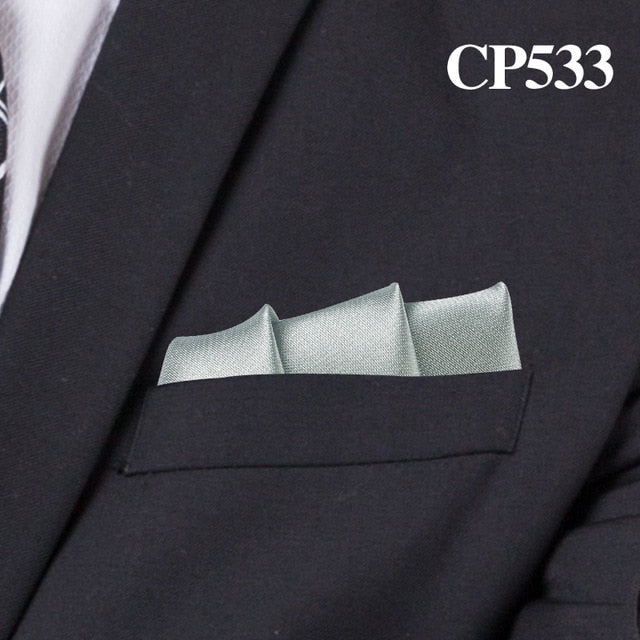 Men's Square Satin Handkerchief