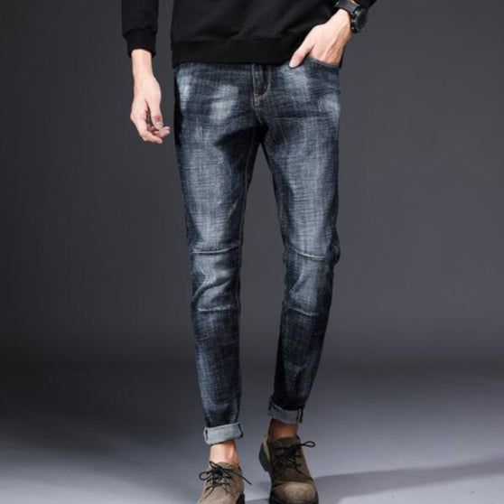 Men's Casual Stretch Thin Jeans