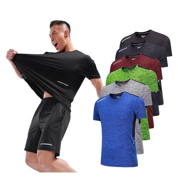 Men's Workout Quick Dry T-Shirts