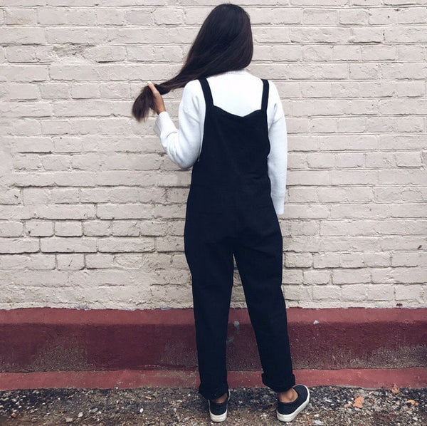 Women's Cotton Full Length Overalls
