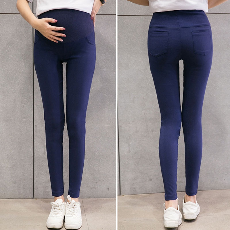 Women's Skinny Maternity Stretch Pencil Pants