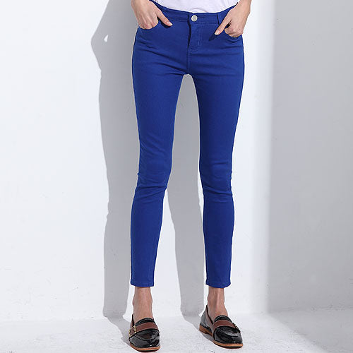 Women's Candy Khaki Style Stretch Pants