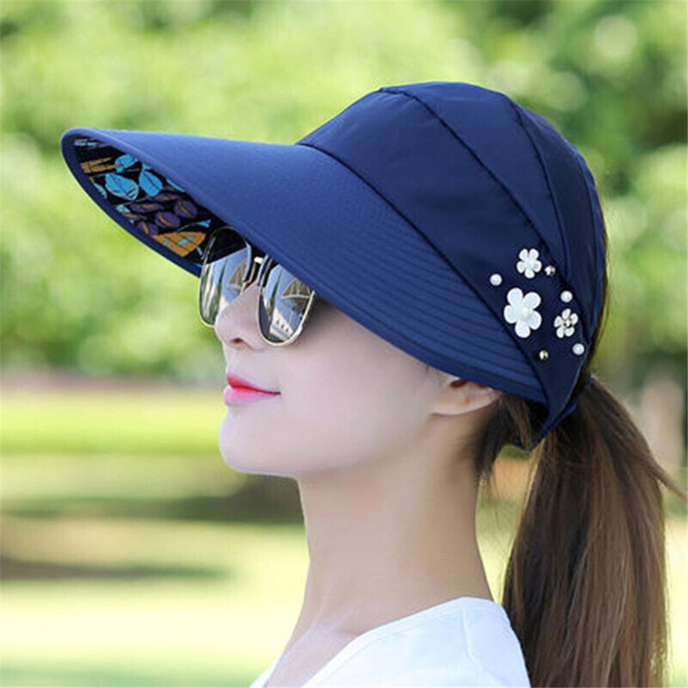 Women's Sun Fishing Beach Hat with UV Protection