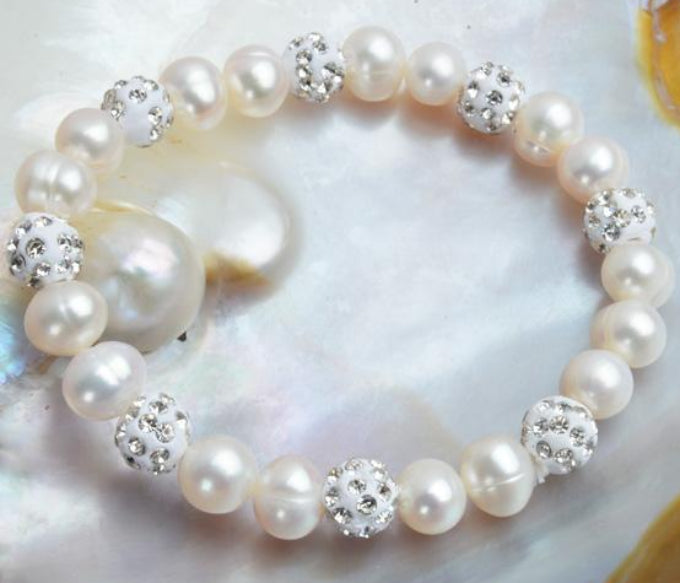Women's Genuine Natural Freshwater Pearl Bracelet