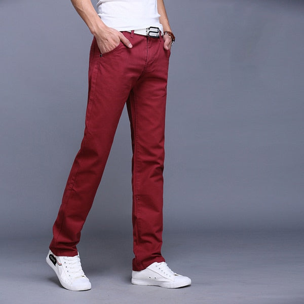 Men's Slim Fit Casual High Quality Pants