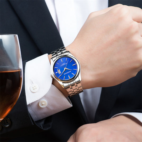Men's Luxury Waterproof Quartz Watch