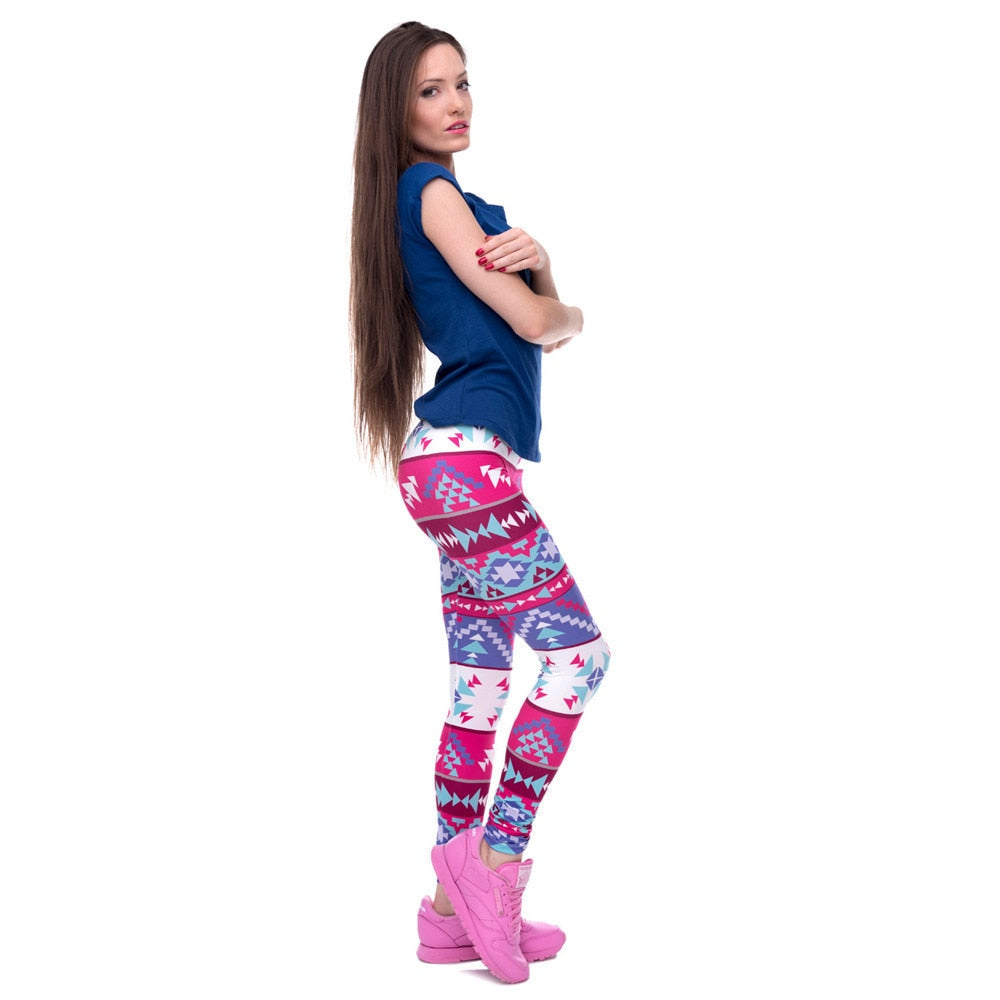 Women's Patterned Print Leggings