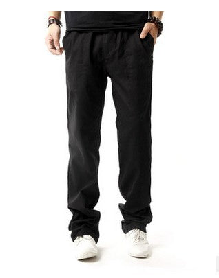 Men's Casual Anti-Microbial Hemp Cotton Comfort Pants