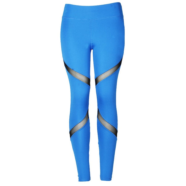 Women's Insert Mesh Design Leggings