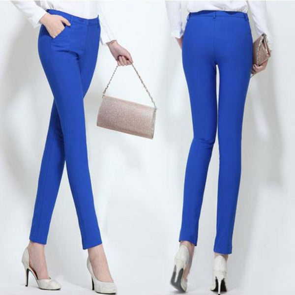 Women's Pencil Slim Stretch Pants