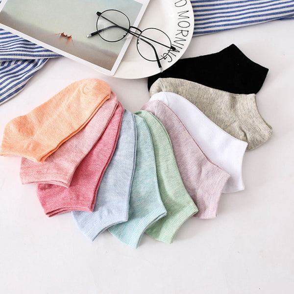 Women's Ankle Socks 10 Pairs
