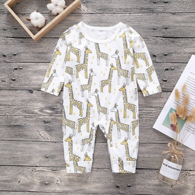 Newborn Baby Girls Romper Jumpsuit