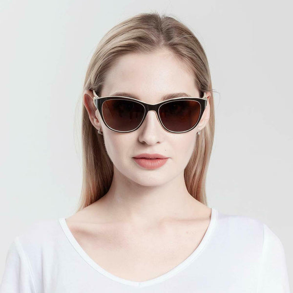 Women's Designer Cat Eye HD Polarized Sunglasses