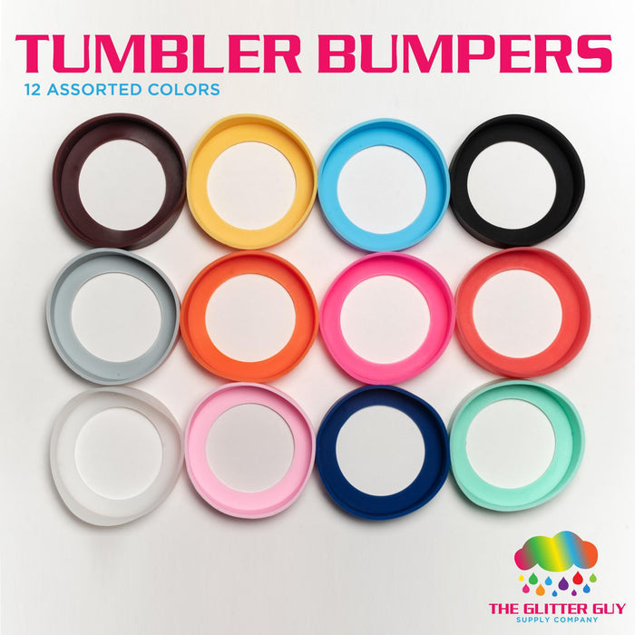 Silicone Tumbler Bumpers (75mm)