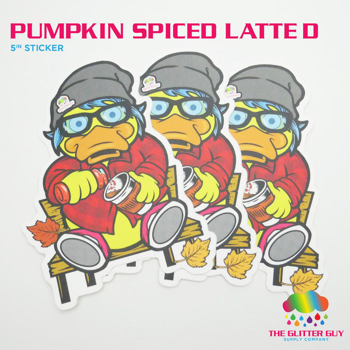 Pumpkin Spiced Latte D Sticker