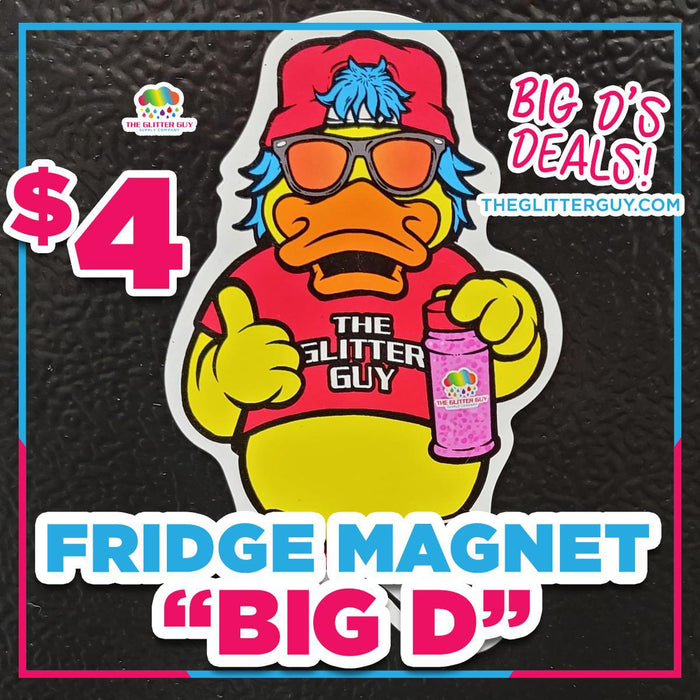 Big D Fridge Magnet