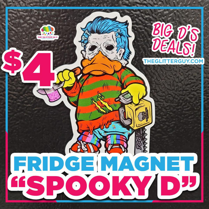 Spooky D Fridge Magnet