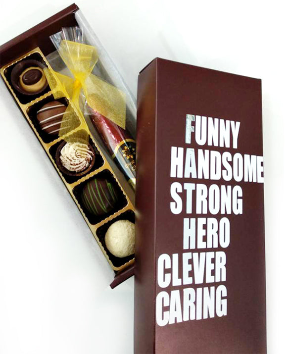 Father's Day Cigar choco box
