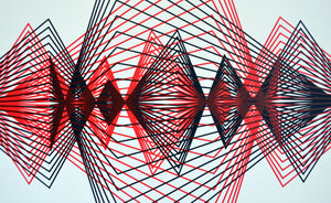 Red & Black Simetric Triangulation